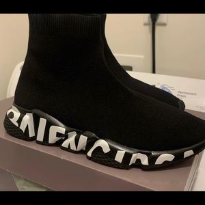 Balenciaga Speed Trainer Grafitti